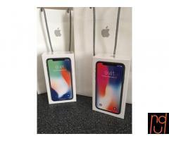 New Apple iphone X 256GB