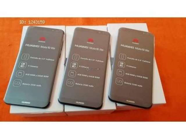 Huawei mate 10 duos 64 gb 4 de ram