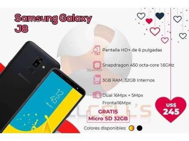 Samsung Galaxy J8 32GB ($245)