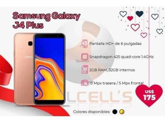 Samsung Galaxy J4+ Duos 32 GB ($175)