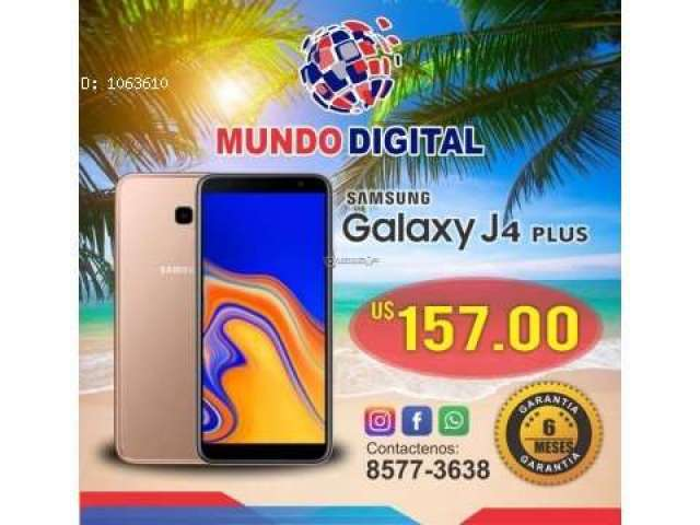 Samsung Galaxy J4 Plus Nuevo