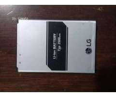 Bateria para celular Lg K8 2017 código BL 45F1F