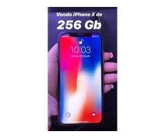 VENDO IPHONE X DE 256 GB