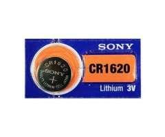 4 Baterias Sony CR1620 (90 Cordobas)