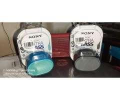 Nuevo Sony SRS XB01