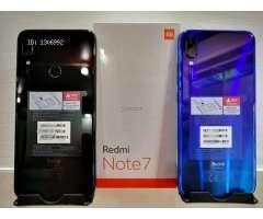 Vendo Xiaomi Redmi Note 7 Nuevo (4Gb RAM 64Gb ROM)