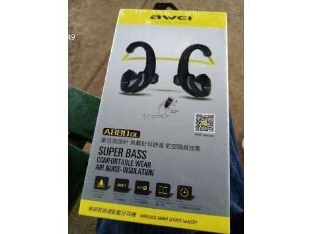 Audífonos AWEI Bluetooth nuevos