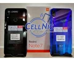 Vendo Xiaomi Redmi Note 7 Nuevo (4Gb RAM 64Gb/128Gb)