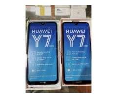 Huawei y7 2019 de 32 gb 2 meses de garantia