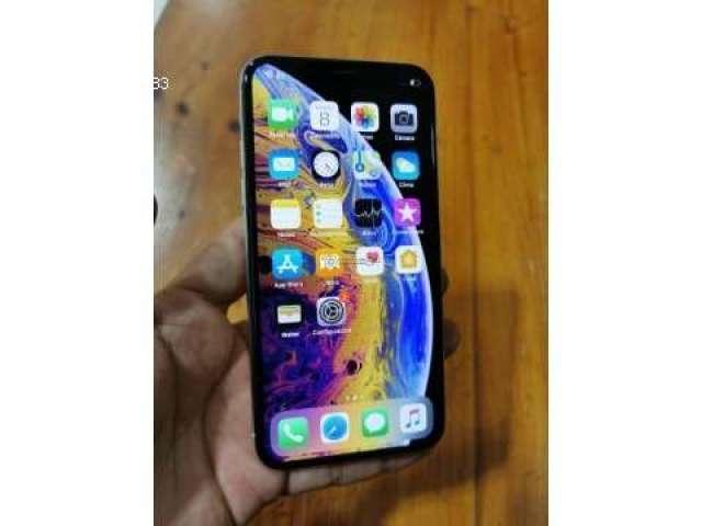 IPHONE XS MAX GREY EN CAJA FULL ACCESORIOS